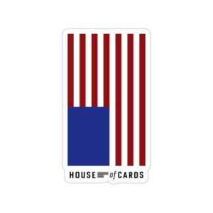 استیکر خانه پوشالی - پرچم آمریکا