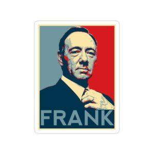 استیکر house of cards - فرانک