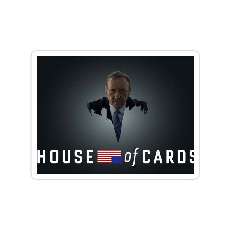 استیکر house of cards - خانه پوشالی