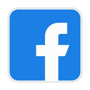 استیکر لپ تاپ – لوگو فیسبوک