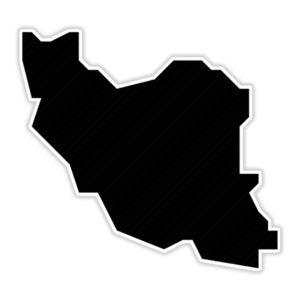 استیکر لپ تاپ – نقشه ایران