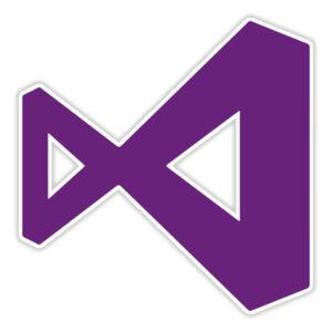 استیکر لپ تاپ – لوگو Visual Studio