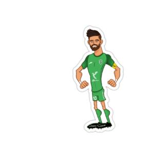 استیکر فوتبالی – پیمان بابایی