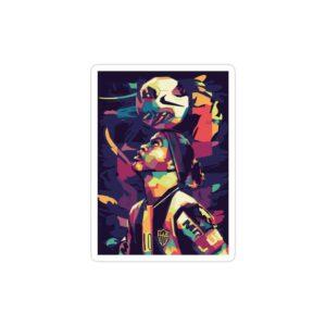 استیکر لپ تاپ طرح هنری رونالدینیو