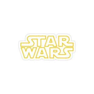 استیکر لپ تاپ star wars