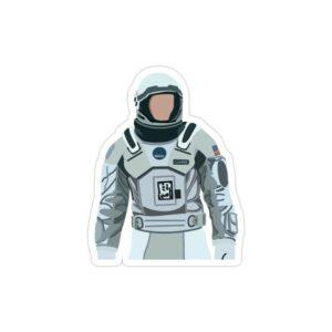 استیکر لپ تاپ کوپر فضانورد