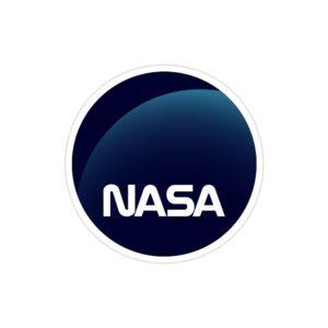استیکر لپ تاپ ناسا