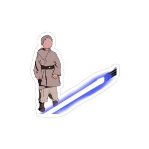 استیکر لپ تاپ به سوی تاریکی