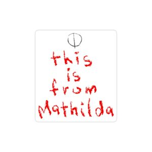 استیکر لپ تاپ از طرف ماتیدا