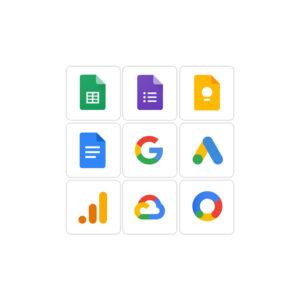 میکر استیکر لپ تاپ سرویسهای شرکت گوگل
