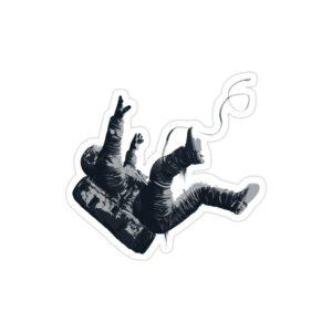 استیکر لپ تاپ سقوط در سیاه چاله