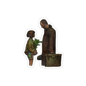 استیکر لپ تاپ لئون و ماتیلدا