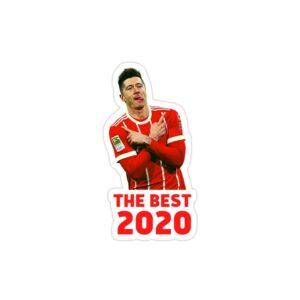 استیکر لپ تاپ بهترین بازیکن 2020