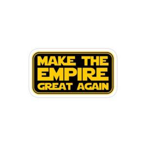 استیکر لپ تاپ امپراطوری را دوباره بزرگ کن