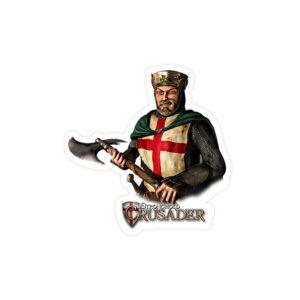 استیکر لپ تاپ جنگهای صلیبی - ریچارد شیردل!