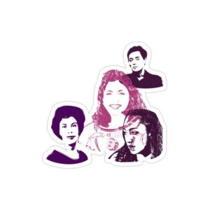 استیکر لپ تاپ زنان افتخار آفرین ایرانی!