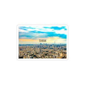 استیکر لپ تاپ نمایی زیبا از شهر تهران
