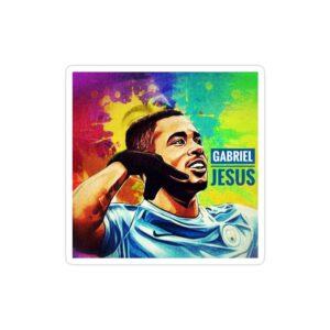 استیکر لپ تاپ پوستر گابریل ژسوس