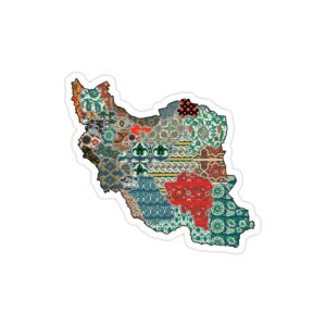 استیکر لپ تاپ ایران چهار فصل!