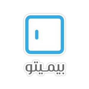 استیکر لپ تاپ بیمیتو - لوگو فارسی