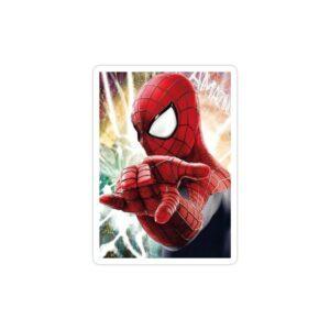 استیکر لپ تاپ پوستری از مرد عنکبوتی