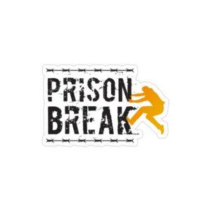 استیکر لپ تاپ فرار از زندان - لوگوی اسم سریال و مایکل