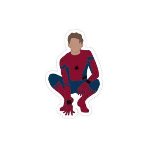 استیکر لپ تاپ پسر عنکبوتی