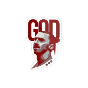استیکر لپ تاپ خدایی به اسم زلاتان