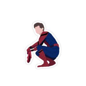 استیکر لپ تاپ مرد عنکبوتی تام هالند