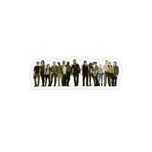 استیکر لپ تاپ پوستر شخصیت های سریال
