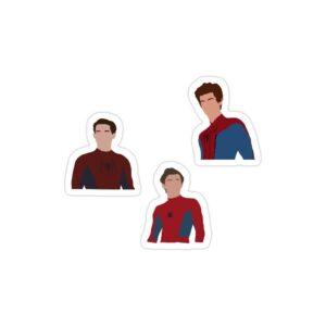 استیکر لپ تاپ میکرو استیکر مرد های عنکبوتی