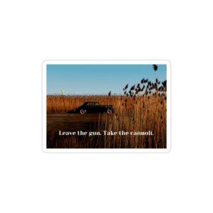 استیکر لپ تاپ پوستر فیلم با تایپوگرافی