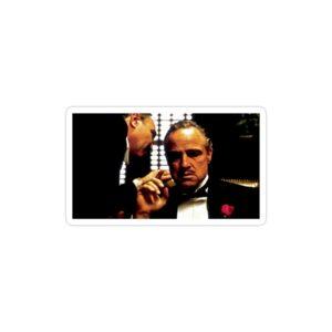 استیکر لپ تاپ پوستر معروف پدرخوانده
