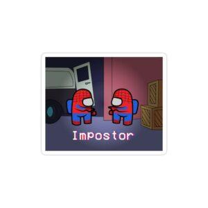 استیکر لپ تاپ امانگ آس
