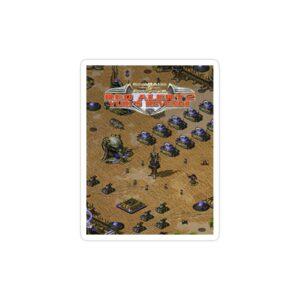 استیکر لپ تاپ جنرال - صحنه ای از بازی