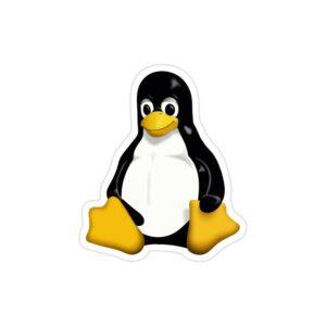 استیکر لپ تاپ ریچارد استالمن - لوگوی لینوکس