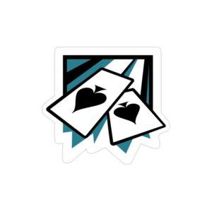 استیکر لپ تاپ رینبو سیکس: سیج - لوگوی اپراتور ایس