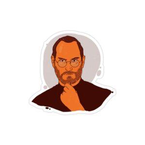 استیکر لپ تاپ استیو جابز - لوگوی جابز