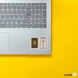 استیکر لپ تاپ رینبو سیکس: سیج - پوستر پنجره و سنگر روی لپتاپ