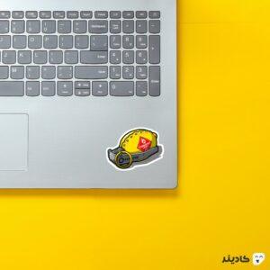 استیکر لپ تاپ کال آف دیوتی - بمب روی لپتاپ