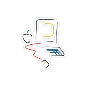 استیکر لپ تاپ تیم کوک - اپل باکس