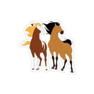 استیکر لپ تاپ Red Dead - اسبهای بازی