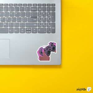 استیکر لپ تاپ Red Dead - دسته بازی روی لپتاپ