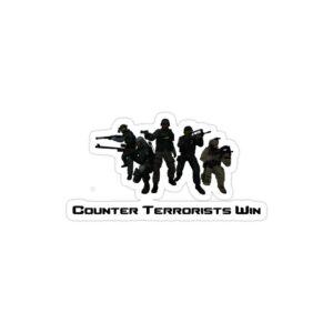 استیکر لپ تاپ کانتر استرایک - سربازان جنگی