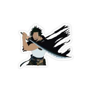 استیکر لپ تاپ black clover - یامی