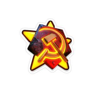 استیکر لپ تاپ جنرال - لوگوی اتشین بازی