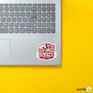 استیکر لپ تاپ کال آف دیوتی - پوستر بازی روی لپتاپ