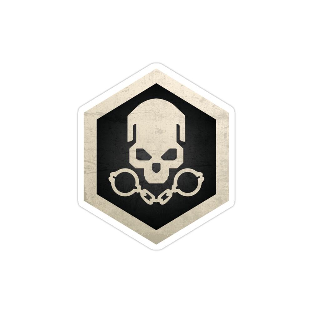 استیکر لپ تاپ کال آف دیوتی - پوستر منطقه جنگی گولاگ