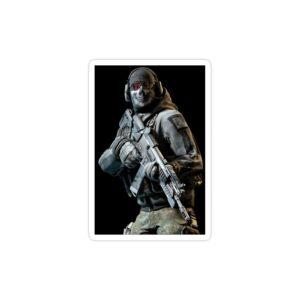 استیکر لپ تاپ کال آف دیوتی - پوستر سرباز بازی