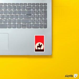 استیکر لپ تاپ Red Dead - پوستر بازی روی لپتاپ